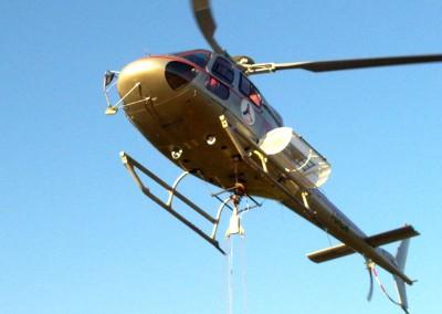 Intervento elicottero Regione Lazio