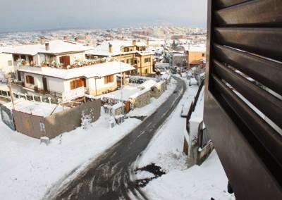 Nevicata a Mentana