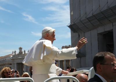 Delegazione dal Papa