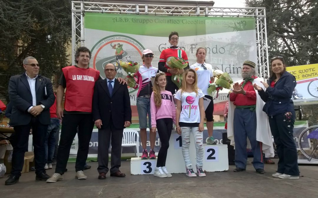 """Competizione ciclistica gran fondo """"La Garibaldina"""""""